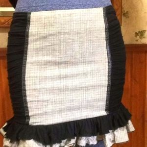 Sexy skirt with ruffled bottom